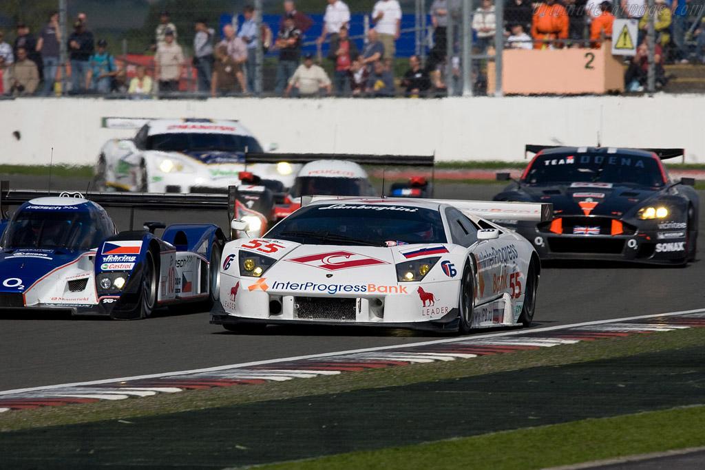 Lamborghini Leading Aston Chassis La01064 2008 Le