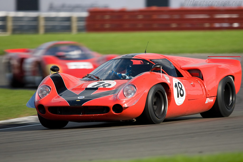 Lola T70 Mk III Coupe - Chassis: SL73/110 - Driver: Bernard Thuner  - 2008 Le Mans Series Silverstone 1000 km