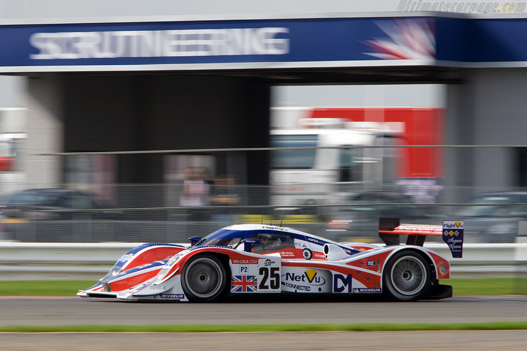MG-Lola through copse - Chassis: B0880-HU03   - 2008 Le Mans Series Silverstone 1000 km