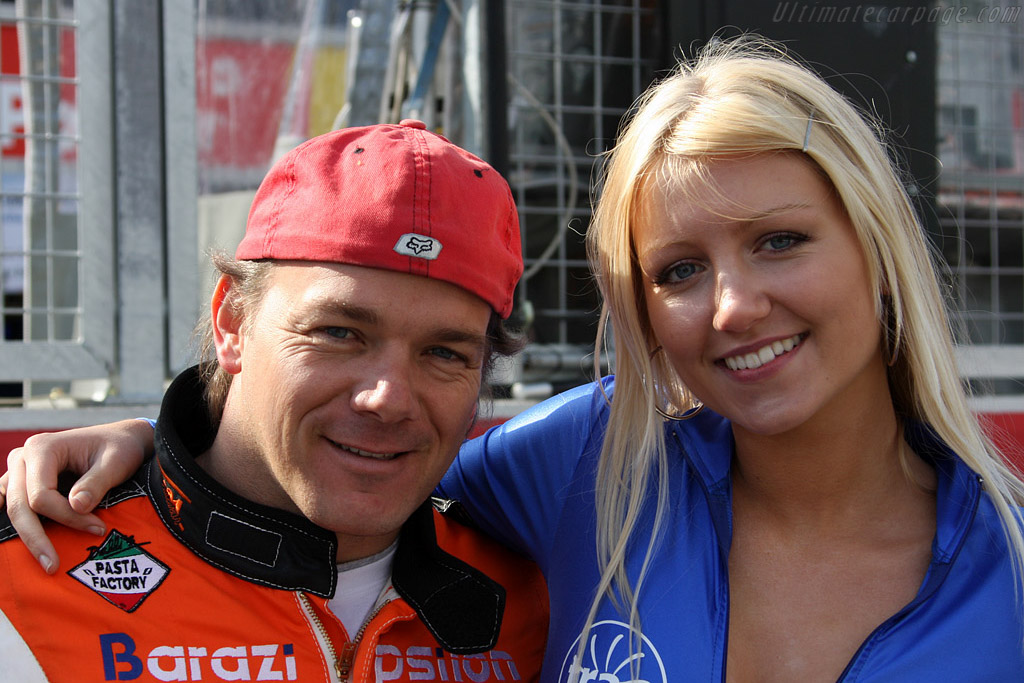 Michael Vergers and friend    - 2008 Le Mans Series Silverstone 1000 km