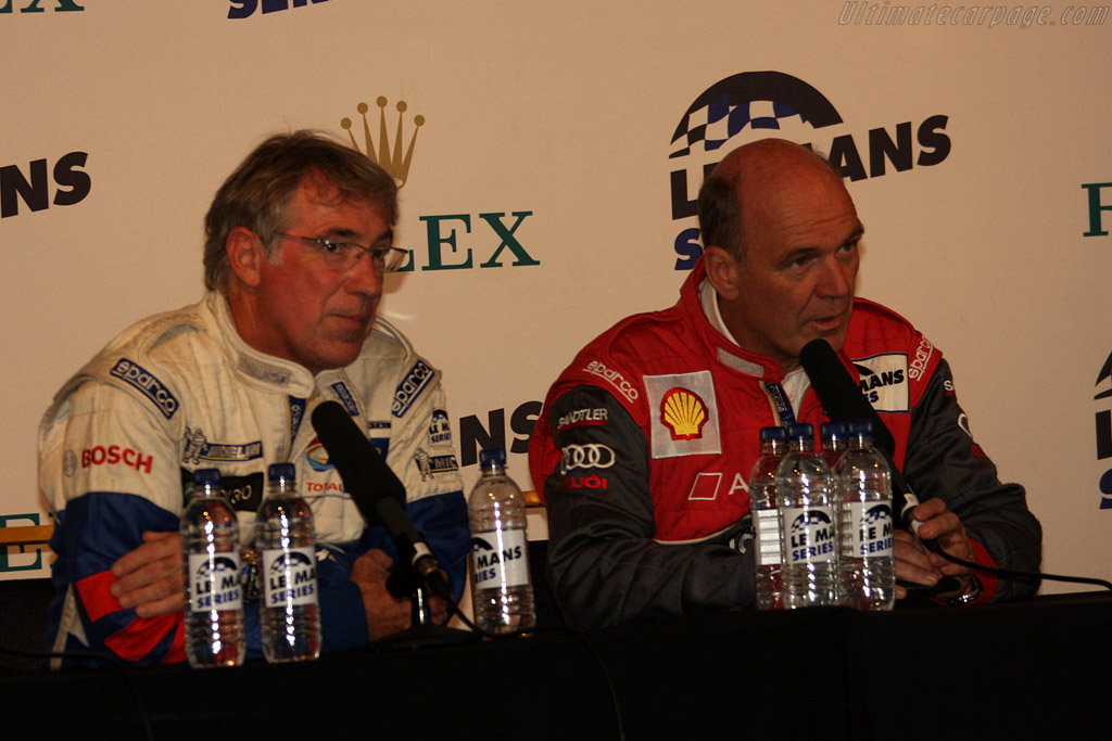 Michel Barge and Wolfgang Ulrich    - 2008 Le Mans Series Silverstone 1000 km