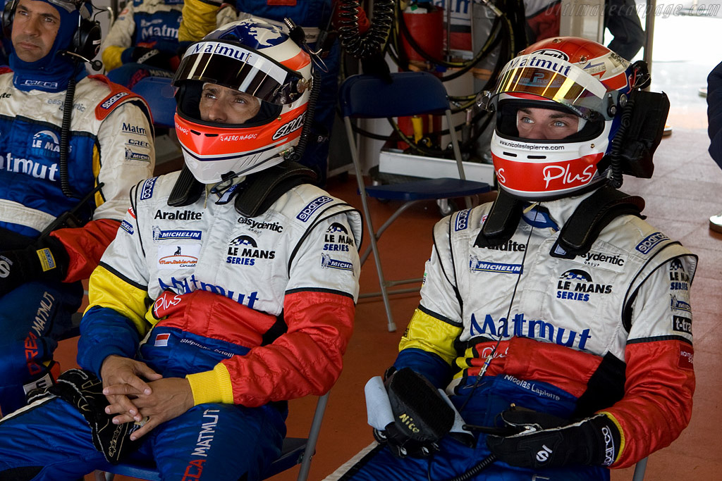 Ortelli and Lapierre ready to go    - 2008 Le Mans Series Silverstone 1000 km