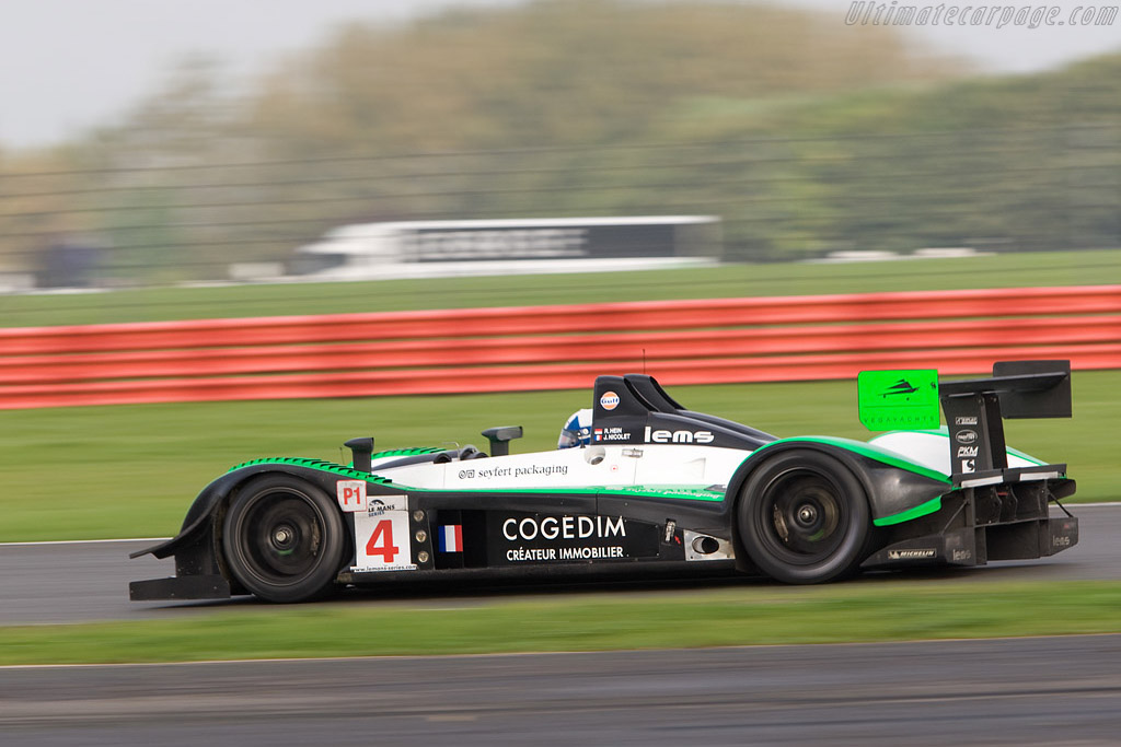 Pescarolo 01 Judd - Chassis: 01-05   - 2008 Le Mans Series Silverstone 1000 km