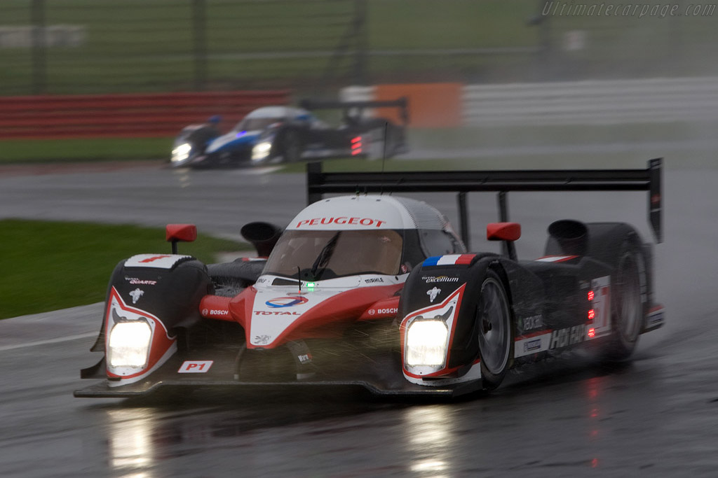 Peugeot 908 HDI Fap - Chassis: 908-05   - 2008 Le Mans Series Silverstone 1000 km