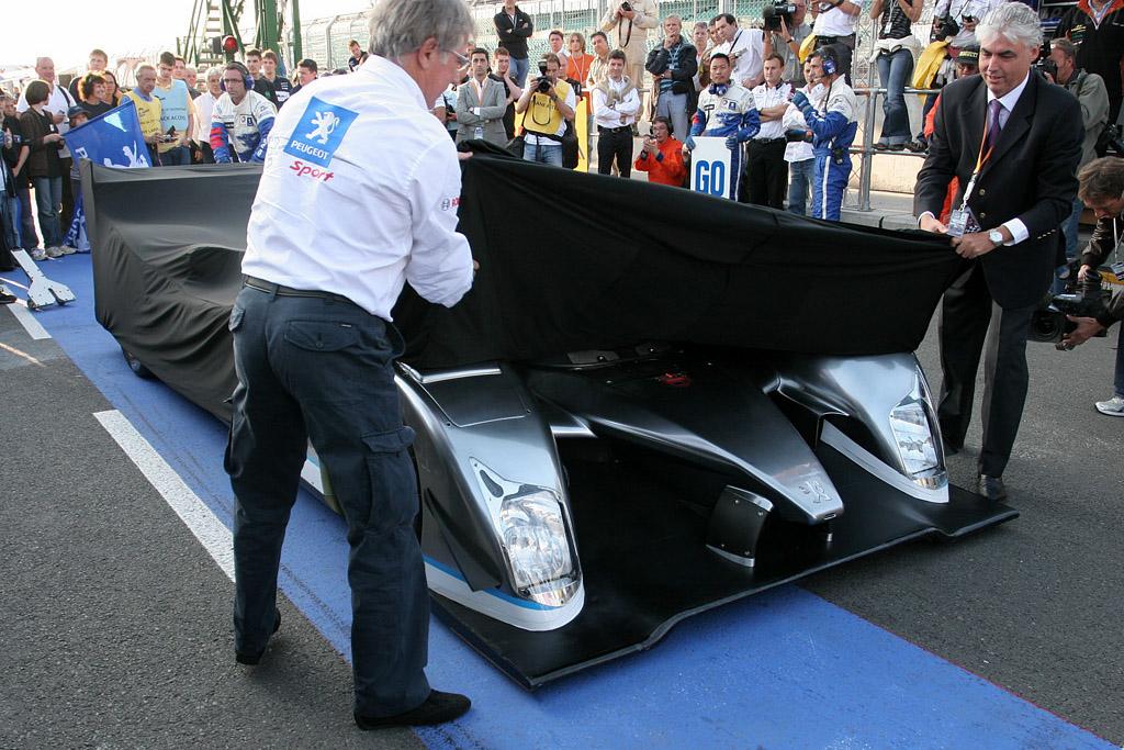 Peugeot 908 Hybrid 'Demonstrator'    - 2008 Le Mans Series Silverstone 1000 km