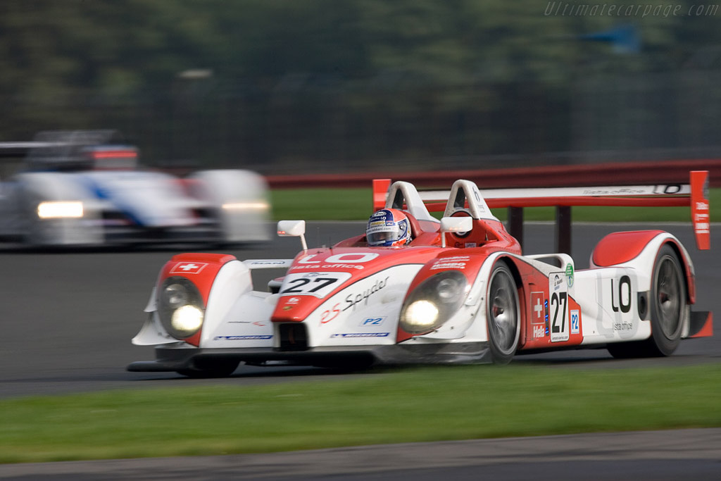 Porsche RS Spyder - Chassis: 9R6 707   - 2008 Le Mans Series Silverstone 1000 km