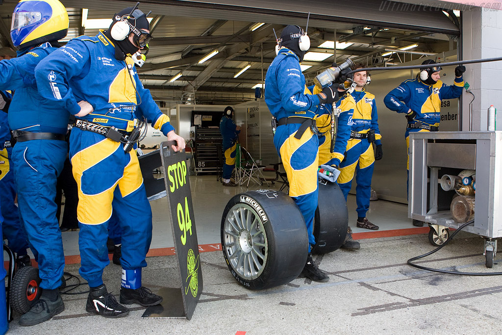 Ready to go    - 2008 Le Mans Series Silverstone 1000 km