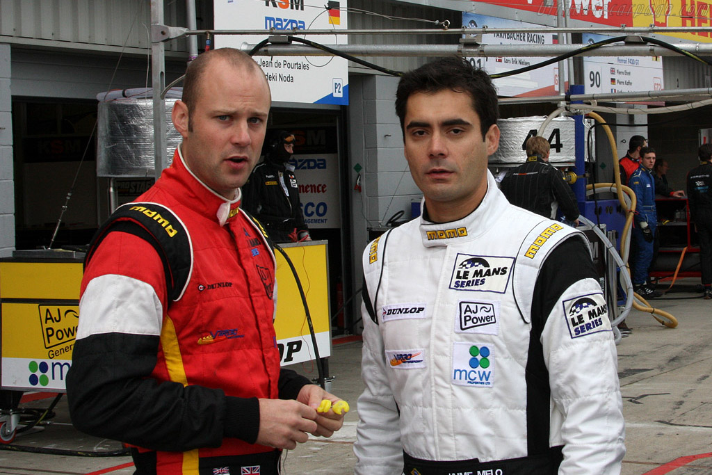 Rob Bell and Jaime Melo    - 2008 Le Mans Series Silverstone 1000 km