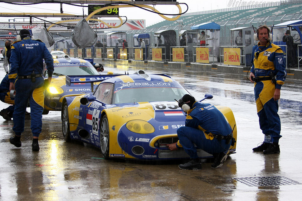 Spyker C8 Laviolette GT2-R - Chassis: XL9AB01G37Z363190   - 2008 Le Mans Series Silverstone 1000 km