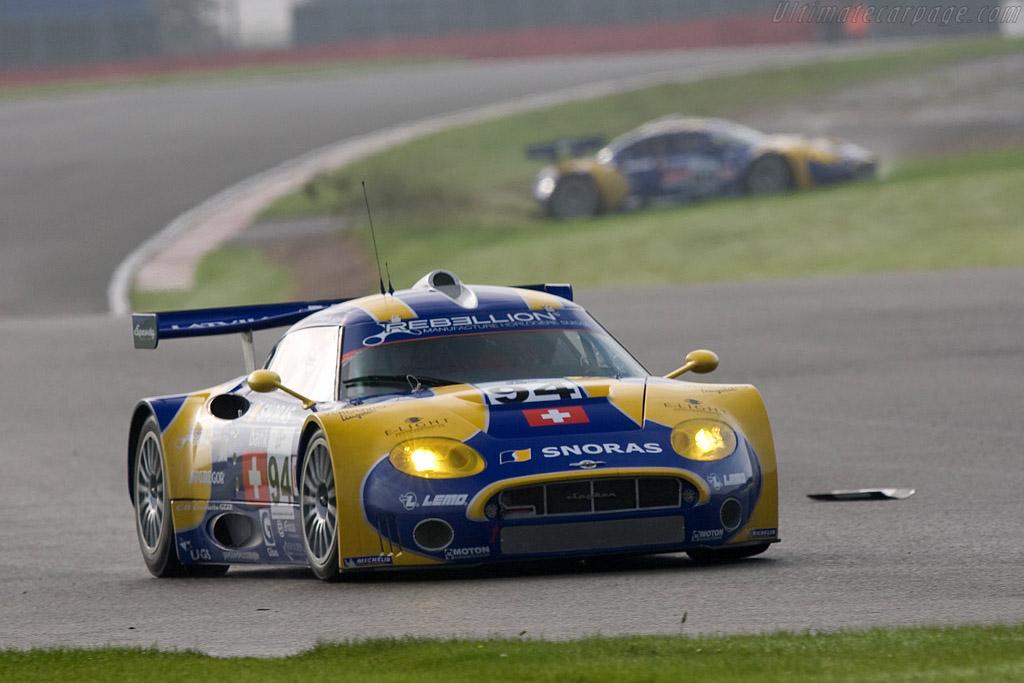 Spyker C8 Laviolette GT2-R - Chassis: XL9AB01G57Z363191   - 2008 Le Mans Series Silverstone 1000 km
