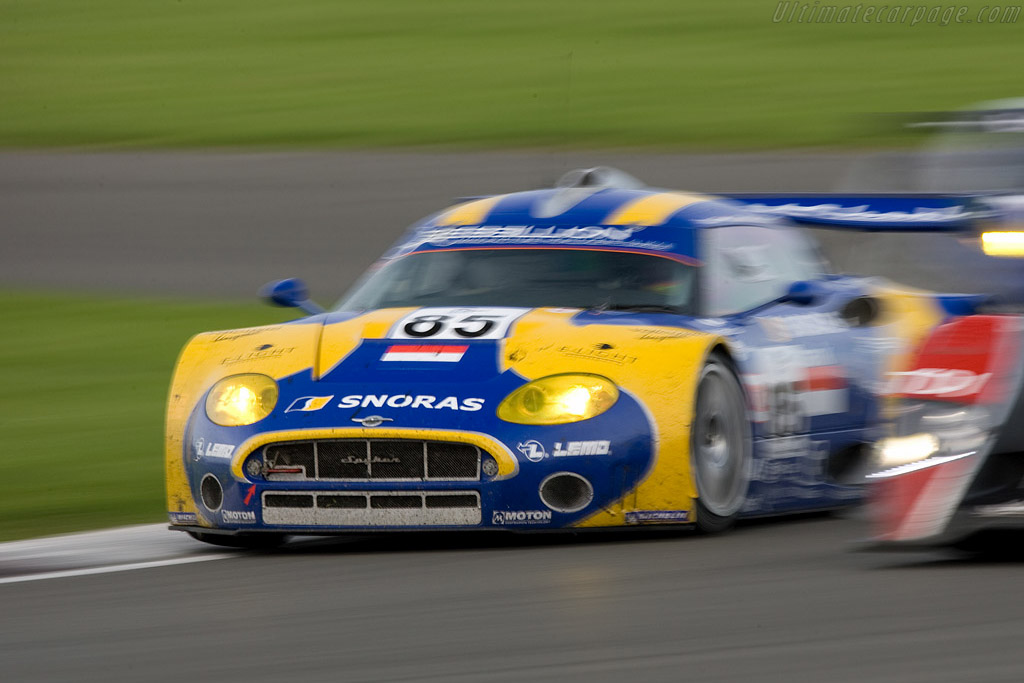 Spyker in the thick of things - Chassis: XL9AB01G37Z363190   - 2008 Le Mans Series Silverstone 1000 km
