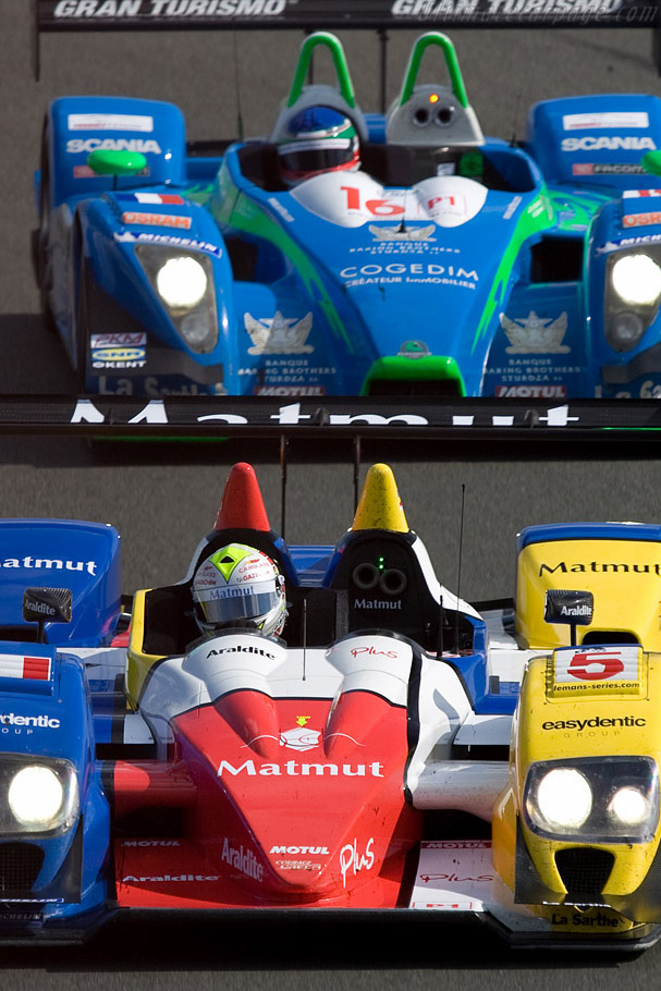 The French connection - Chassis: LC70-11   - 2008 Le Mans Series Silverstone 1000 km