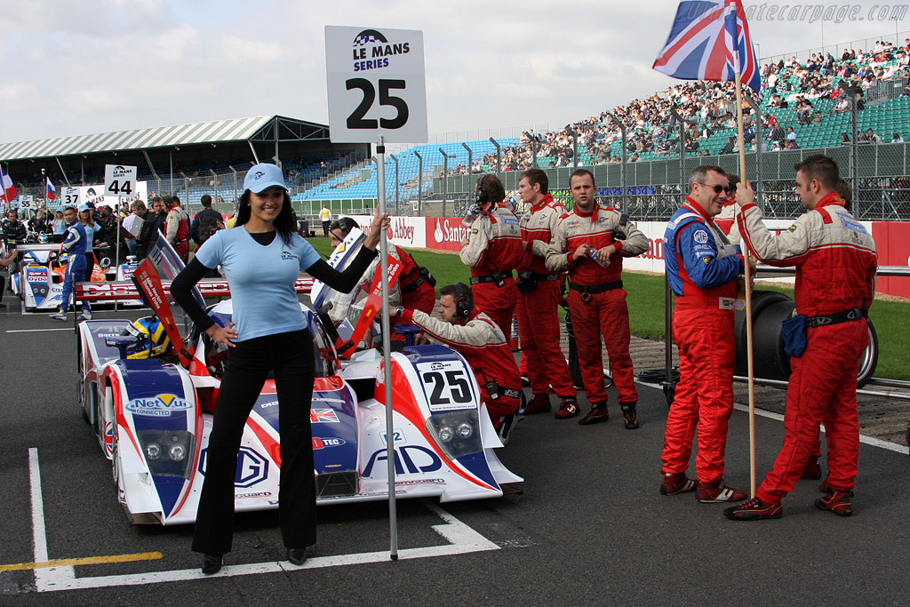 The new MG Lola - Chassis: B0880-HU03   - 2008 Le Mans Series Silverstone 1000 km