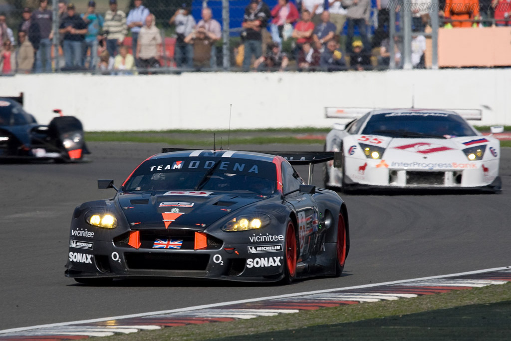 The tables turned - Chassis: DBR9/101   - 2008 Le Mans Series Silverstone 1000 km