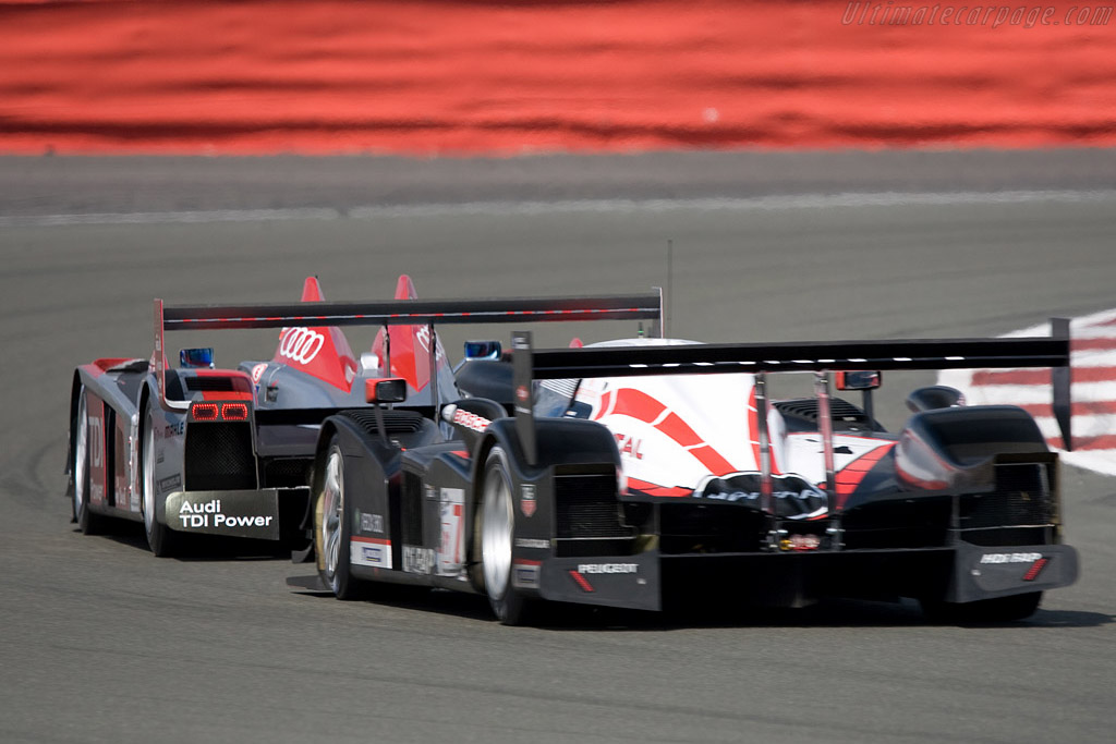 The two championship contenders - Chassis: 908-05   - 2008 Le Mans Series Silverstone 1000 km