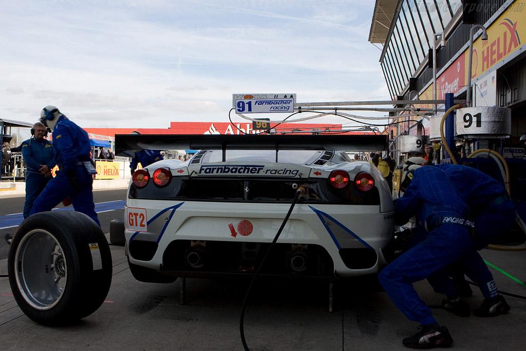 Third for the Farnbacher Ferrari - Chassis: 2612   - 2008 Le Mans Series Silverstone 1000 km