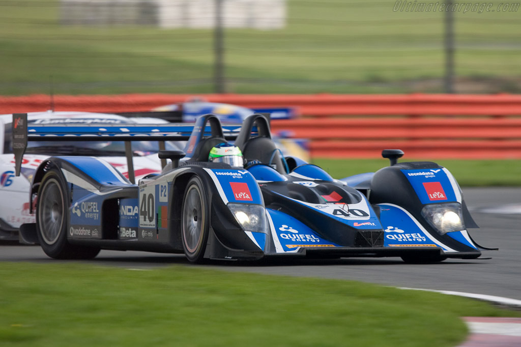 Third for the old B05/40 - Chassis: B0540-HU01   - 2008 Le Mans Series Silverstone 1000 km