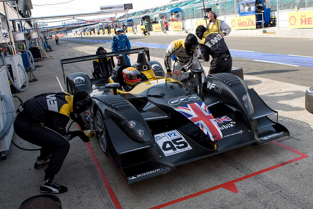 Third was so very close - Chassis: WF01-01   - 2008 Le Mans Series Silverstone 1000 km