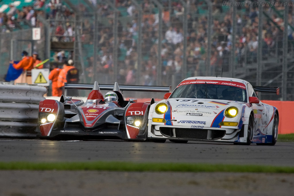 This did not end well - Chassis: 201   - 2008 Le Mans Series Silverstone 1000 km