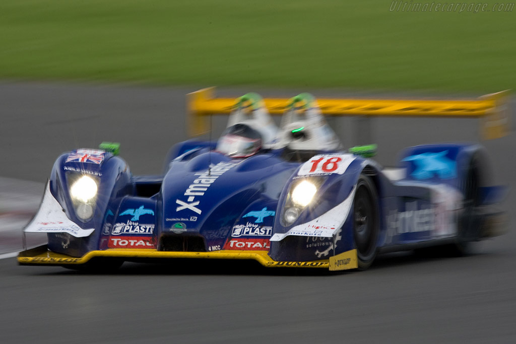 Vanina at speed - Chassis: 01-04   - 2008 Le Mans Series Silverstone 1000 km