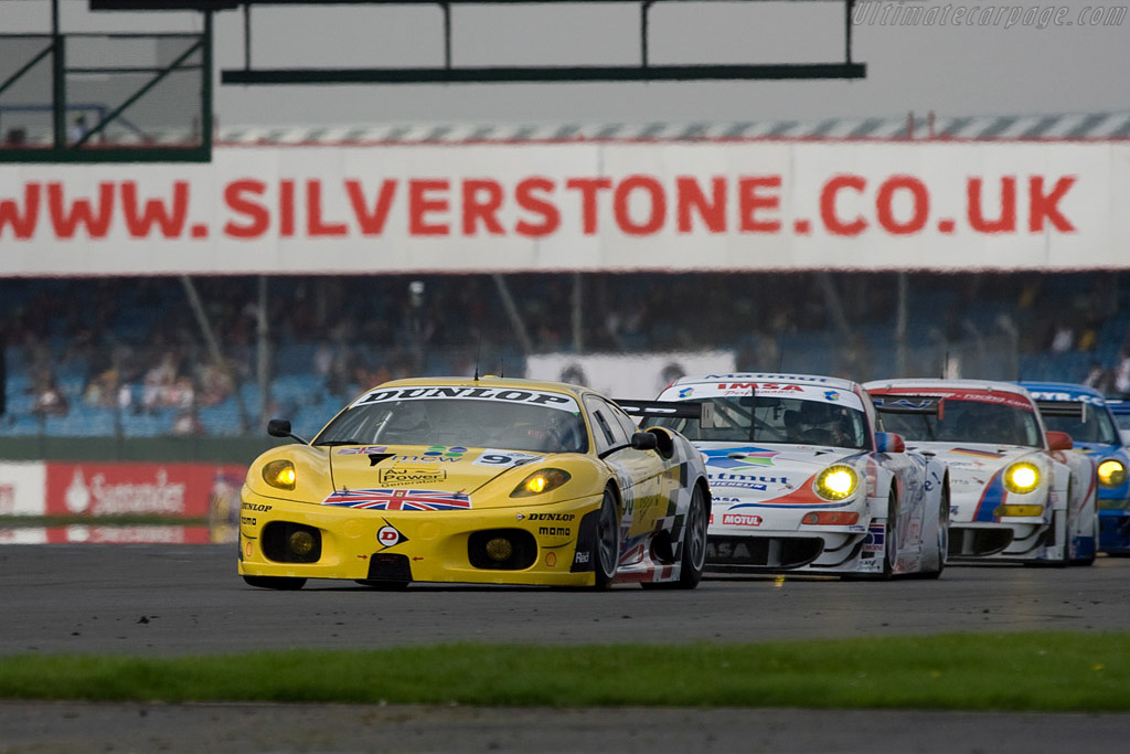 Virgo taking command - Chassis: 2408   - 2008 Le Mans Series Silverstone 1000 km