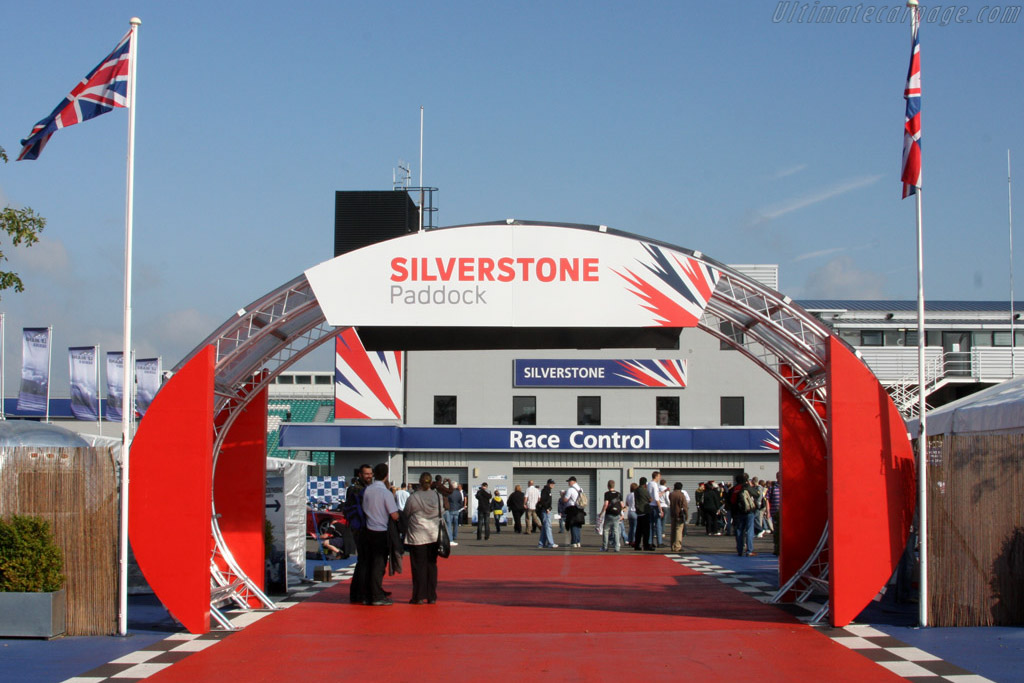 Welcome to Silverstone    - 2008 Le Mans Series Silverstone 1000 km