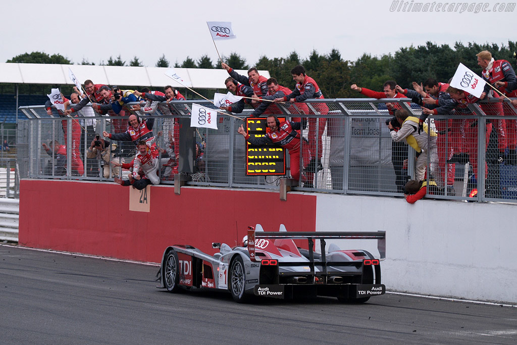 Well done Audi - Chassis: 201   - 2008 Le Mans Series Silverstone 1000 km
