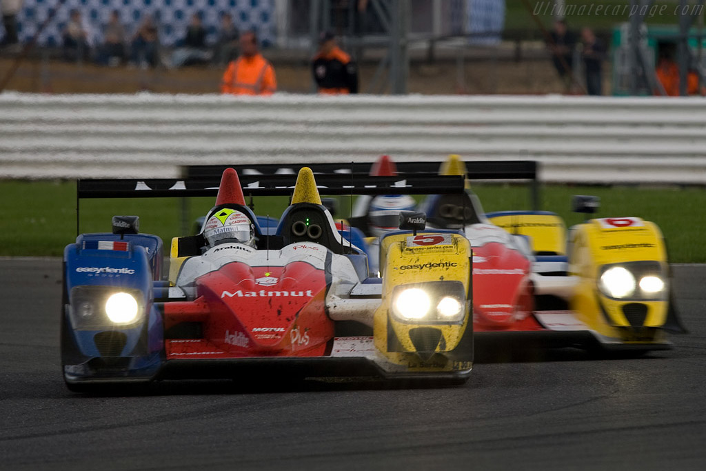 Who's Afraid of Red, Yellow and Blue - Chassis: LC70-11   - 2008 Le Mans Series Silverstone 1000 km
