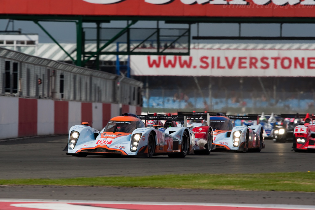 007 takes the lead - Chassis: B0960-HU02S   - 2009 Le Mans Series Silverstone 1000 km