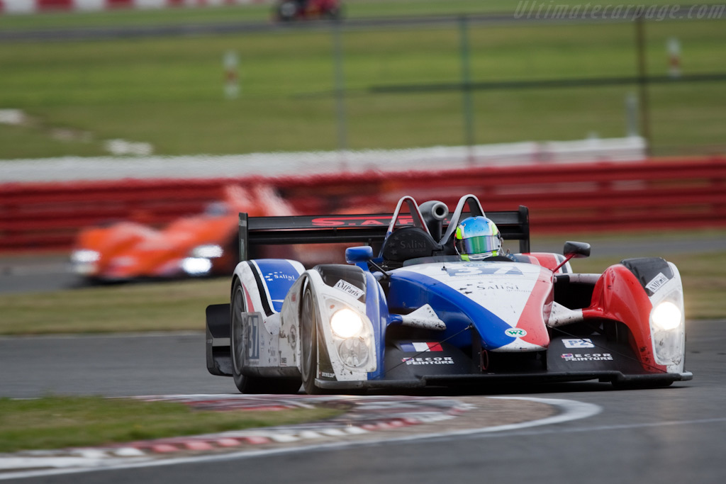 9th in class for WR - Chassis: 2008-001   - 2009 Le Mans Series Silverstone 1000 km