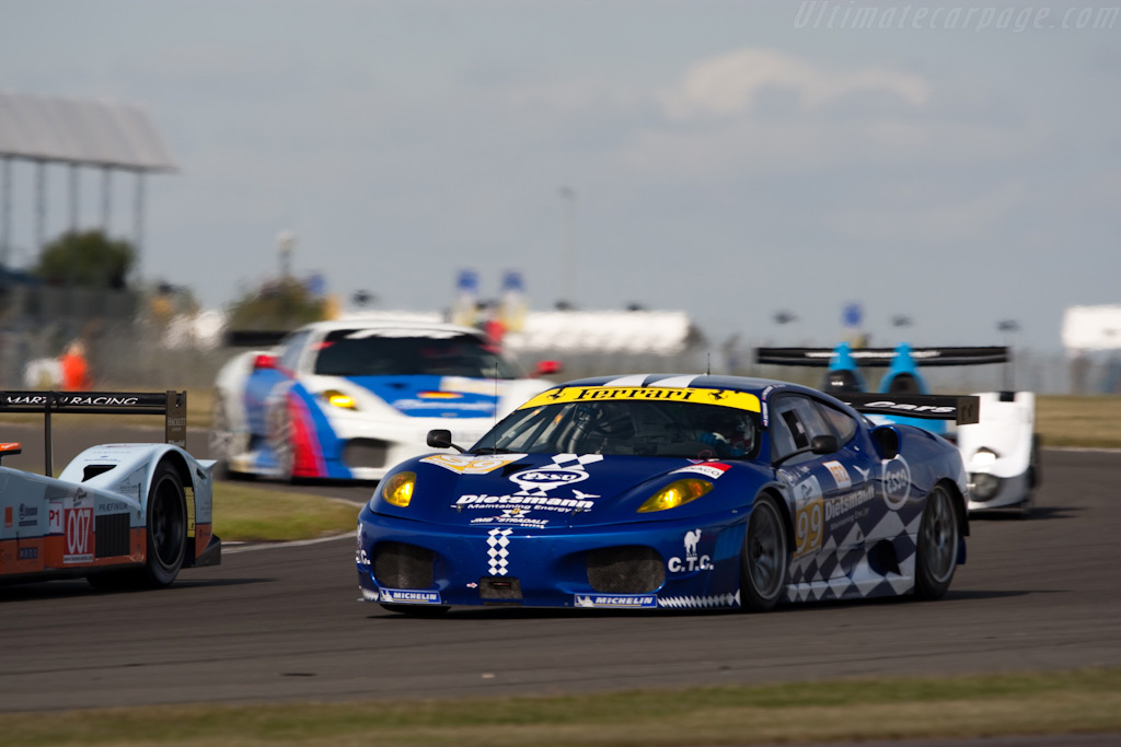 A colourful bunch - Chassis: 2450   - 2009 Le Mans Series Silverstone 1000 km