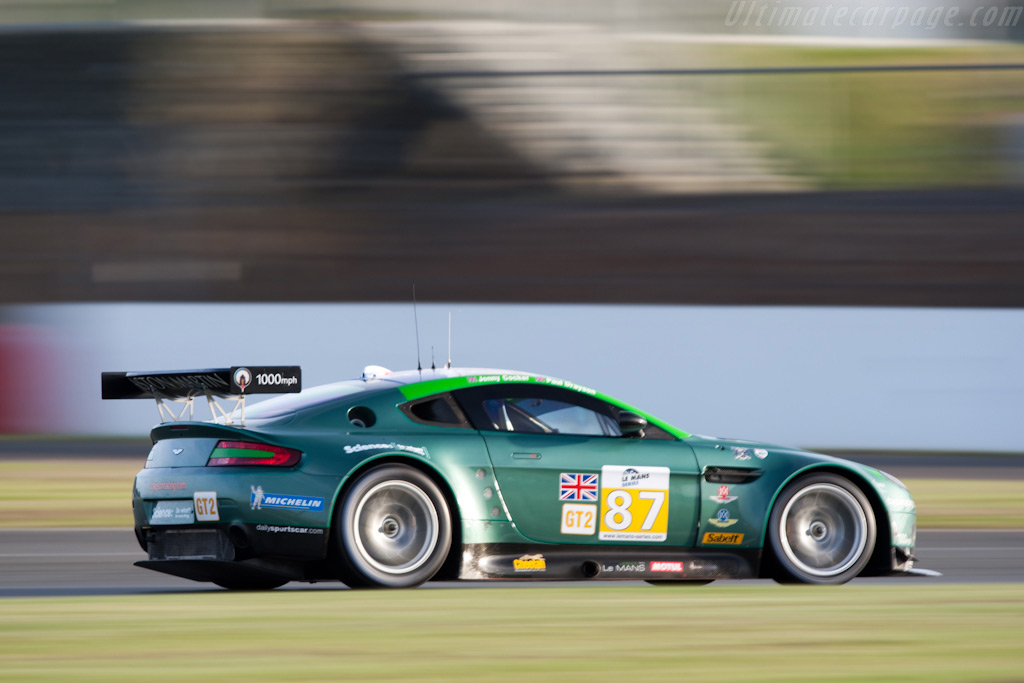 After Silverstone it will roar no more - Chassis: GT2/002   - 2009 Le Mans Series Silverstone 1000 km