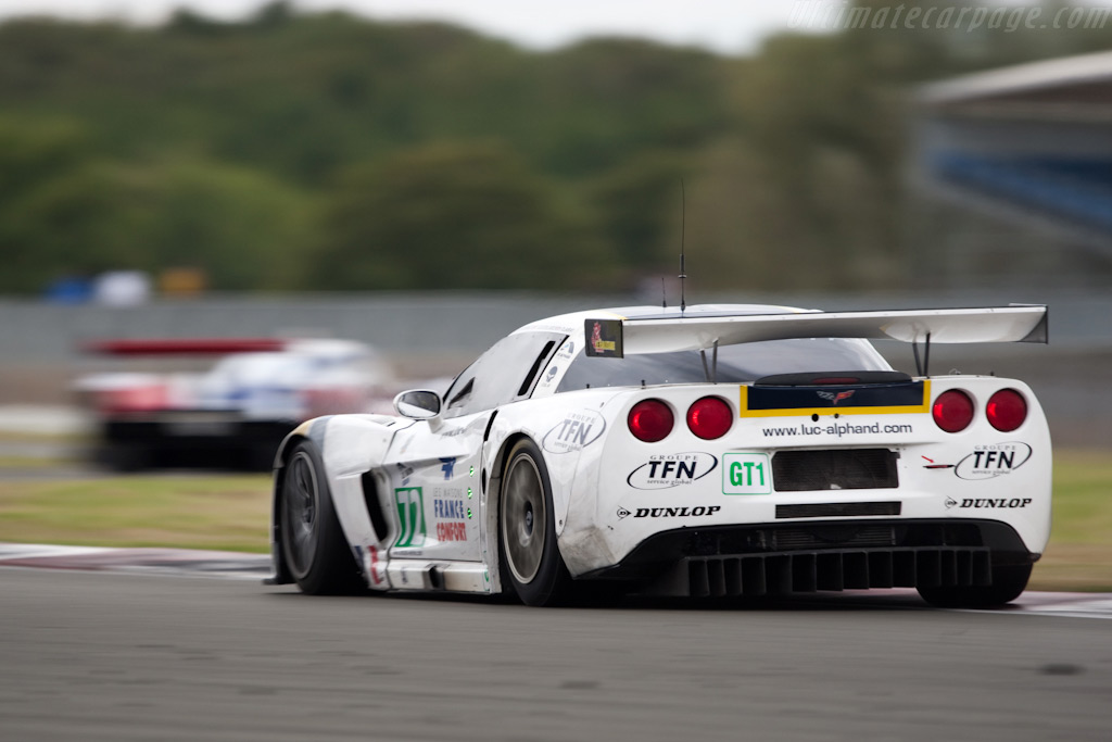 Alphand Corvette through Stowe - Chassis: 004   - 2009 Le Mans Series Silverstone 1000 km