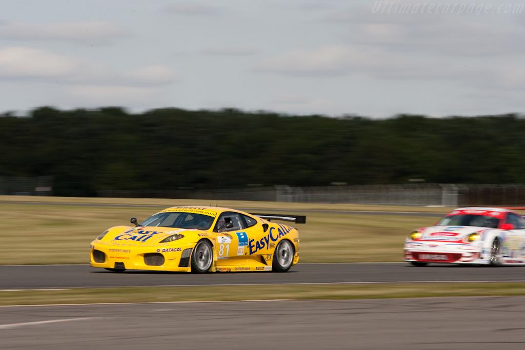 Another Ferrari vs Porsche battle - Chassis: 2476   - 2009 Le Mans Series Silverstone 1000 km