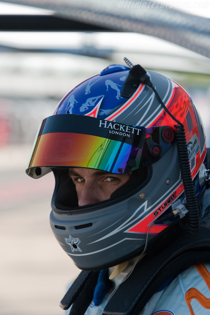 Aston's Stuart Hall    - 2009 Le Mans Series Silverstone 1000 km