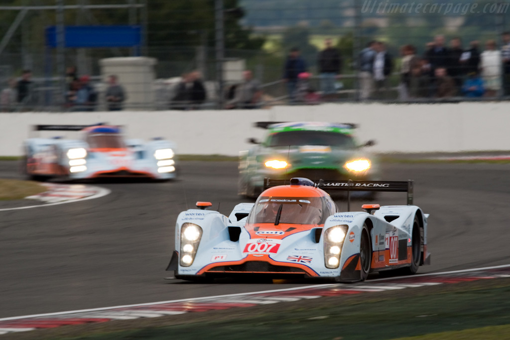 Astons in the mix - Chassis: B0960-HU02S   - 2009 Le Mans Series Silverstone 1000 km