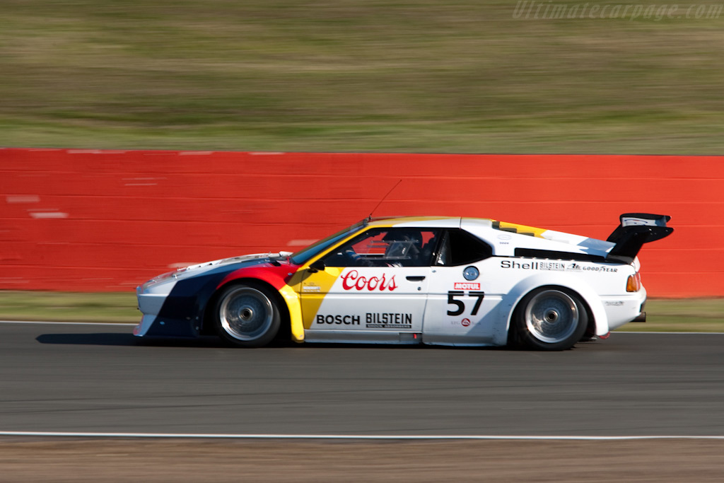 BMW M1 - Chassis: 4301065   - 2009 Le Mans Series Silverstone 1000 km