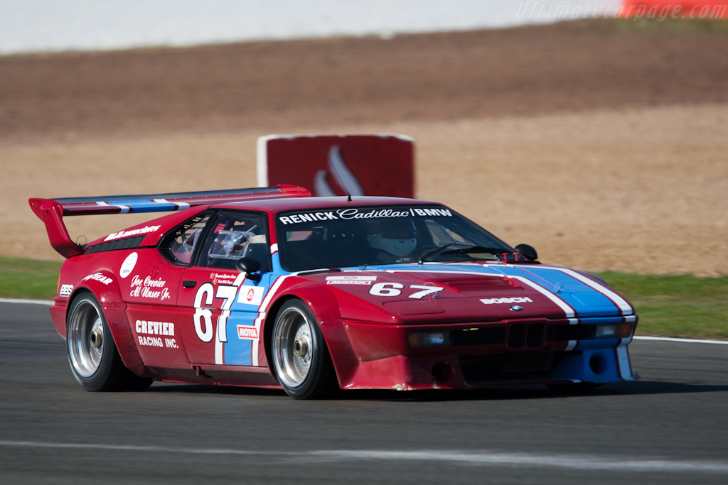BMW M1 - Chassis: 4301195   - 2009 Le Mans Series Silverstone 1000 km