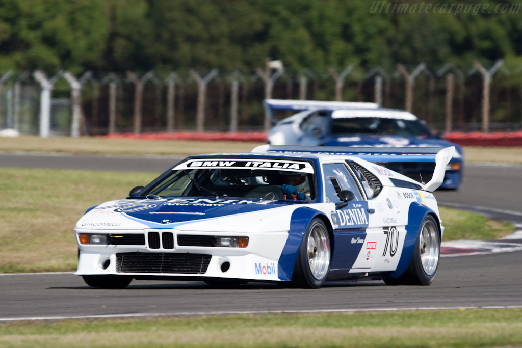 BMW M1s - Chassis: 4301040   - 2009 Le Mans Series Silverstone 1000 km
