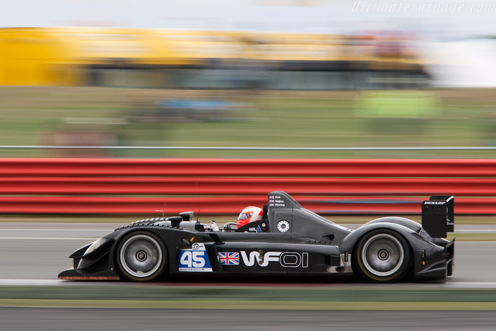 Beautiful in Black - Chassis: WF01-02   - 2009 Le Mans Series Silverstone 1000 km
