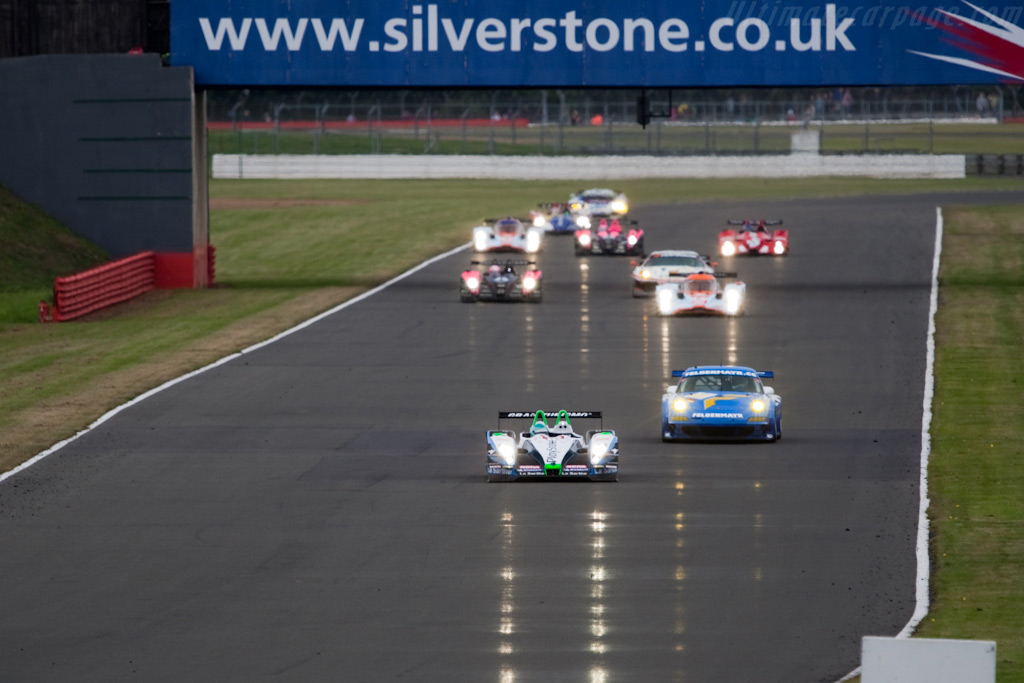 Bouillon just grabbed the lead - Chassis: 01-08   - 2009 Le Mans Series Silverstone 1000 km