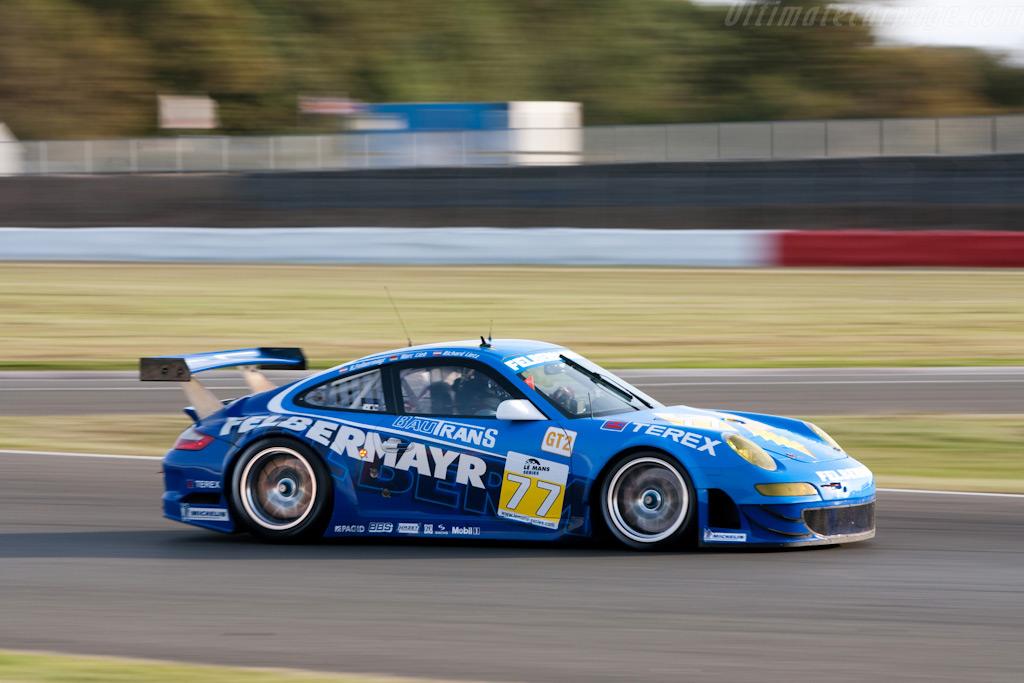 Championship leading Porsche - Chassis: WP0ZZZ99Z9S799911   - 2009 Le Mans Series Silverstone 1000 km