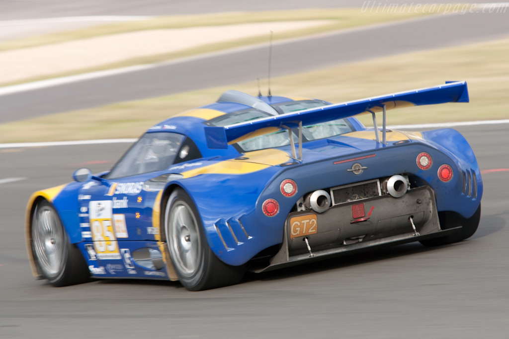 Dirty Spyker - Chassis: XL9AB01G37Z363190   - 2009 Le Mans Series Silverstone 1000 km