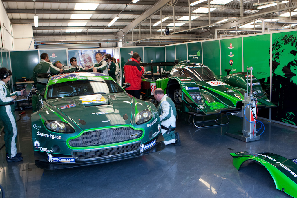 Drayson's old and new cars - Chassis: GT2/002   - 2009 Le Mans Series Silverstone 1000 km