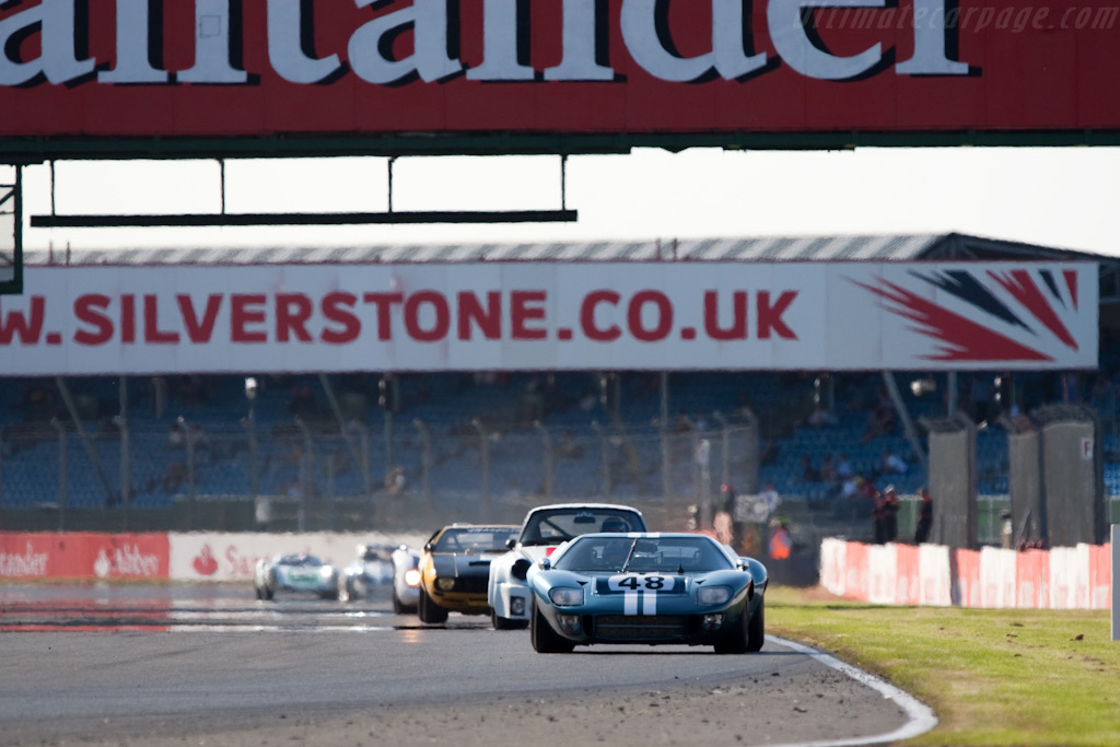 Ford GT40 - Chassis: GT40P/1078   - 2009 Le Mans Series Silverstone 1000 km