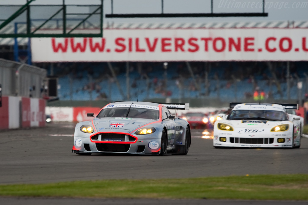 GT1 - Chassis: DBR9/106   - 2009 Le Mans Series Silverstone 1000 km