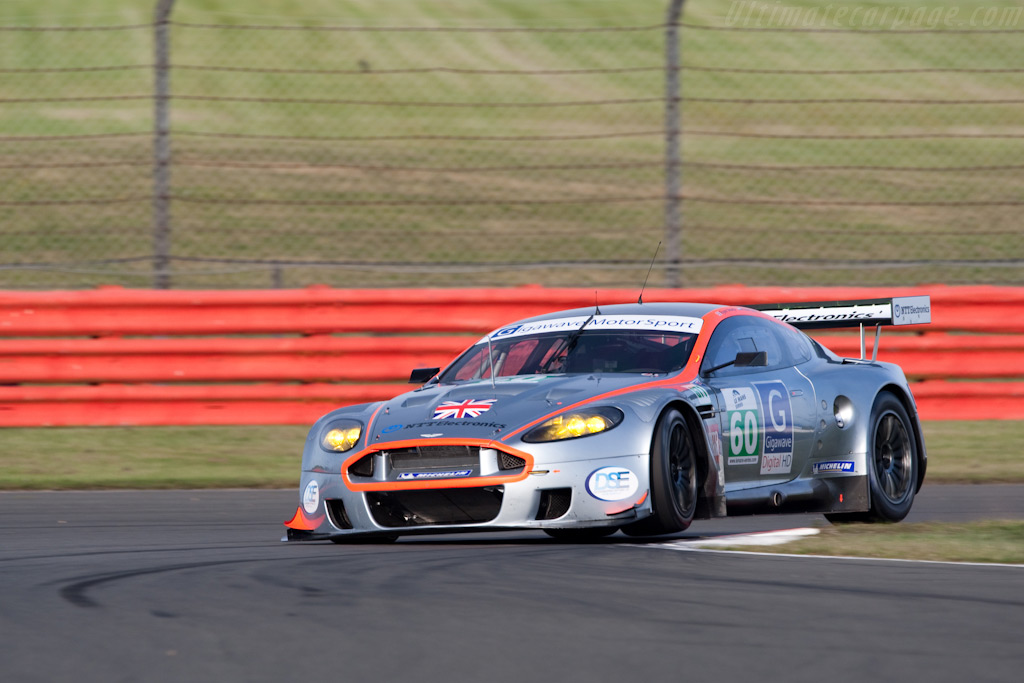 Gigawave flies into the Le Mans Series - Chassis: DBR9/106   - 2009 Le Mans Series Silverstone 1000 km