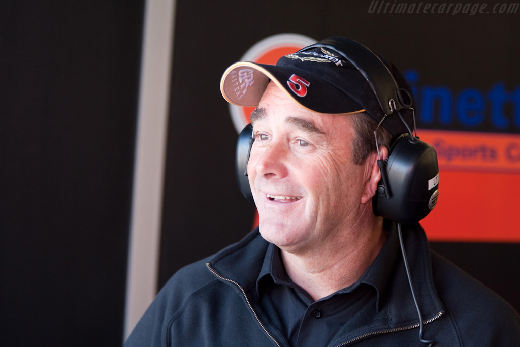 Good old Nigel Mansell    - 2009 Le Mans Series Silverstone 1000 km