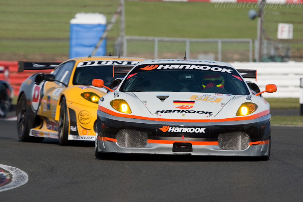 Hankook and Dunlop - Chassis: 2608   - 2009 Le Mans Series Silverstone 1000 km
