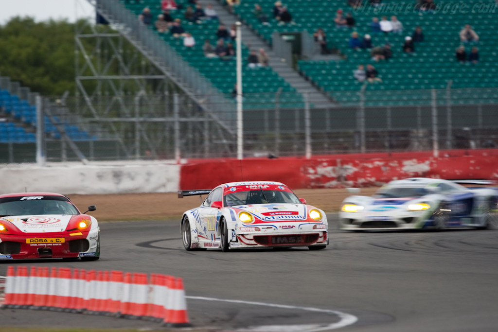 Imsa Porsche hunting for second - Chassis: WP0ZZZ99Z9S799915   - 2009 Le Mans Series Silverstone 1000 km